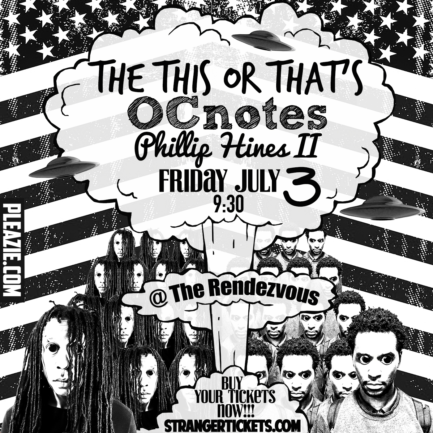 The This Or That's, OCnotes, And Phillip Hines II LIVE @ The Rendezvous Jewel Box Theater - July 3rd Doors @ 9:30